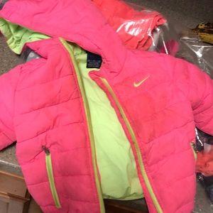 Children's Nike puffer jacket 12 months